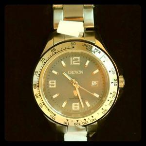 Paul Du Pree by Croton Mens Grey Dial Watch